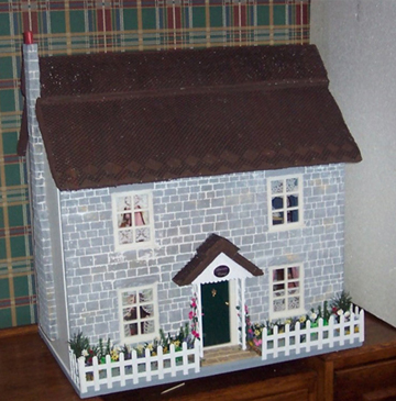 Lavender Cottage Doll's house