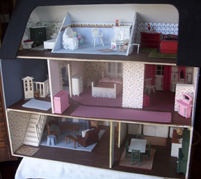 open back dollhouse
